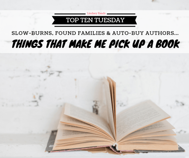 190402 Things That Make Me Pick Up A Book