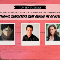 Fictional Characters That Remind Me Of Myself {Top Ten Tuesday}