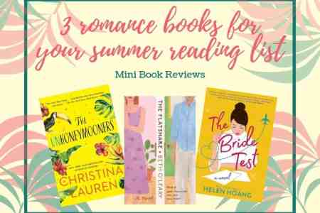 3 romance books for your 2019 summer reading list