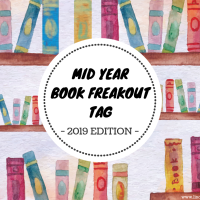 Mid Year Book Freakout Tag - 2019 Edition {Tag Thursday}