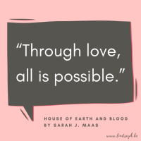 House of Earth and Blood by Sarah J. Maas {Quote It Wednesday}