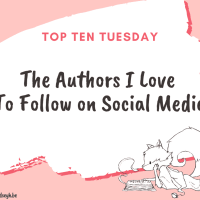 The Authors I Love To Follow on Social Media {Top Ten Tuesday}