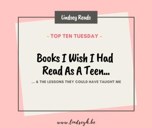 20200425 Books I Wish I Had Read As A Teen