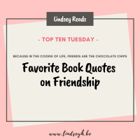 Favorite Book Quotes on Friendship