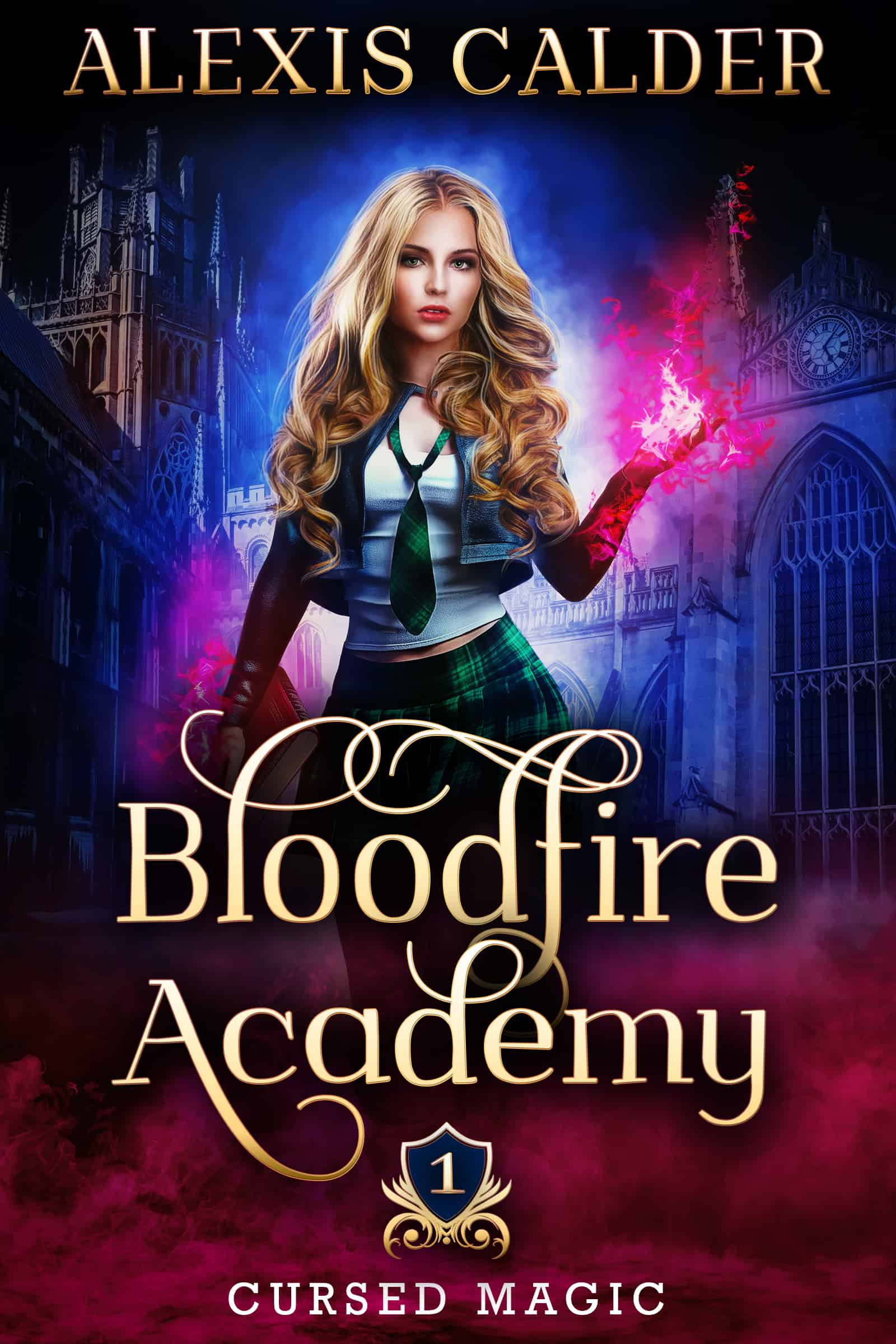 Bloodfire Academy 1 by Alexis Calder