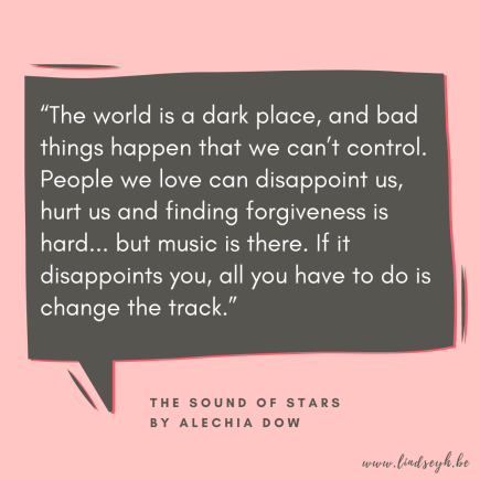 The Sound of Stars by Alechia Dow Quote
