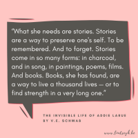 The Invisible Life of Addie LaRue by V.E. Schwab {Quote It Wednesday}