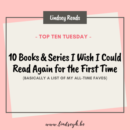 20210824 Books I Wish I Could Read Again For The First Time