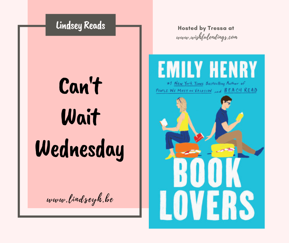 Can't Wait Wednesday - Book Lovers