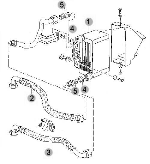 Porsche Engine Cooling Diagram