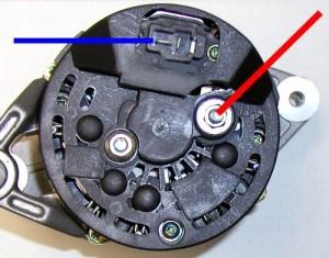 BOSCH RACING ALTERNATOR at LINDSEY RACING  Your Porsche Performance Parts Center