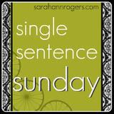 single sentence sunday