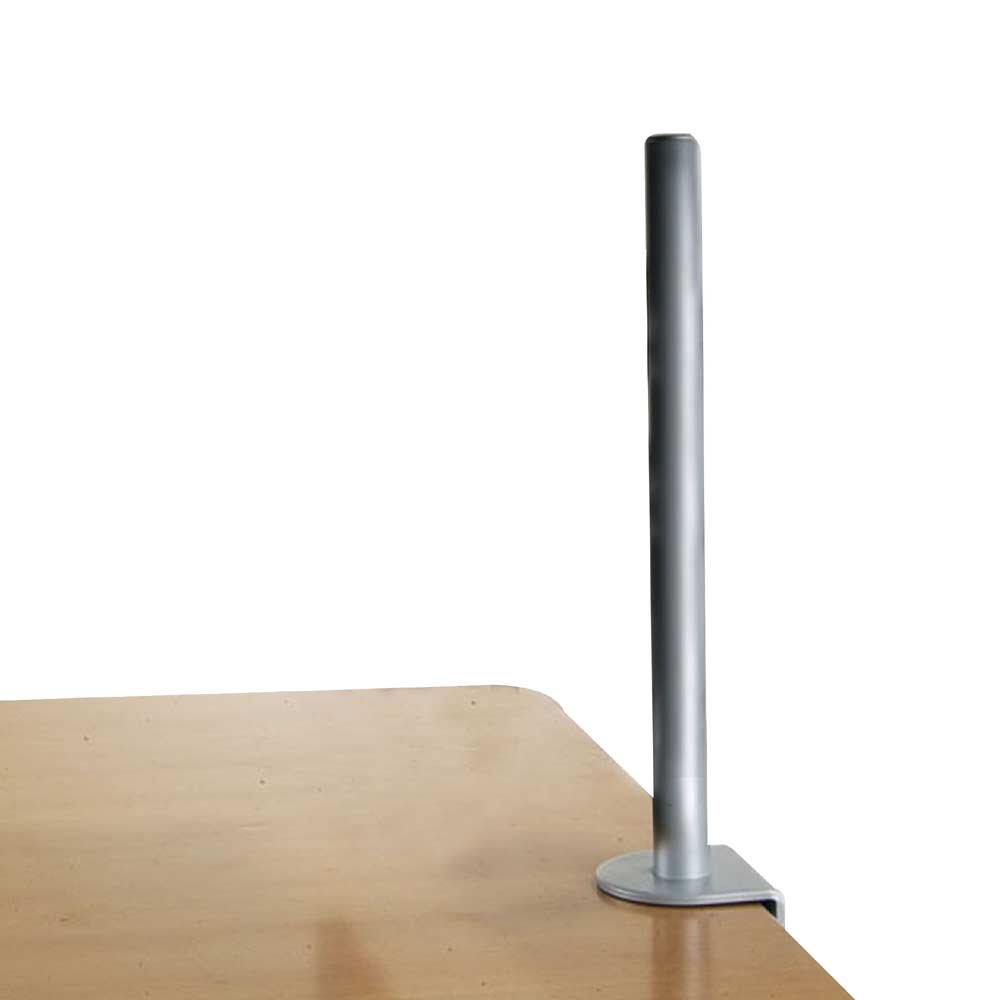 450mm Desk Clamp Pole Silver  from LINDY UK