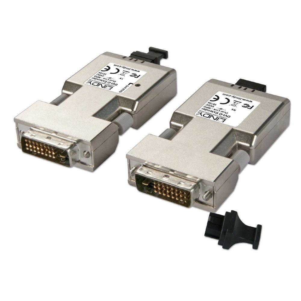 hight resolution of  500m fibre optic dvi d dual link extender