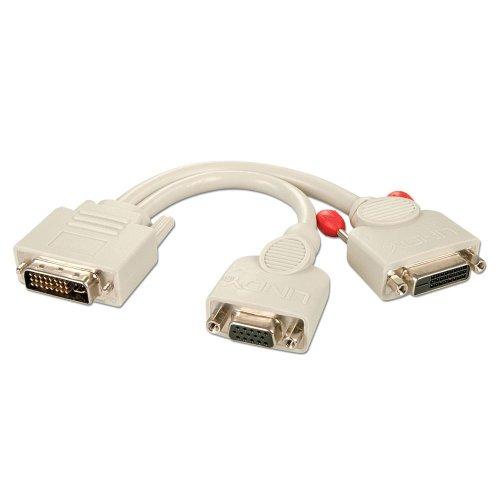 small resolution of dvi i male to dvi d female vga female splitter cable