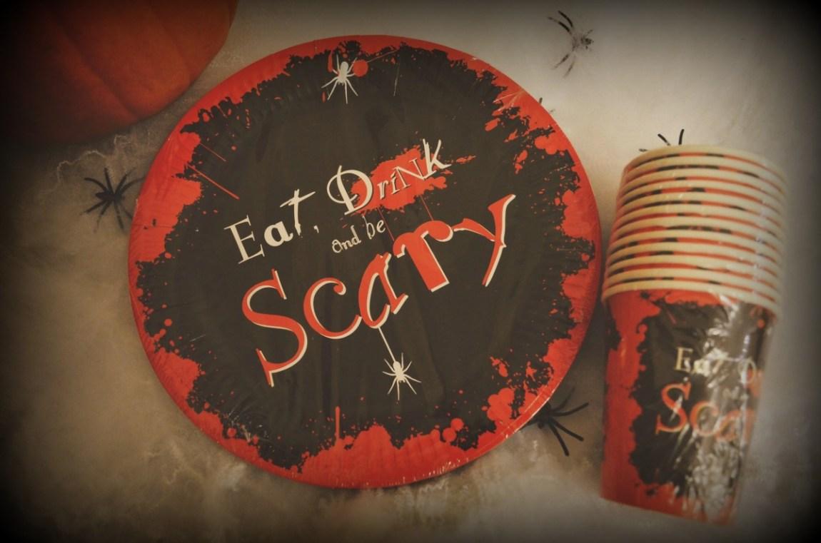 ALDI Halloween Partyware