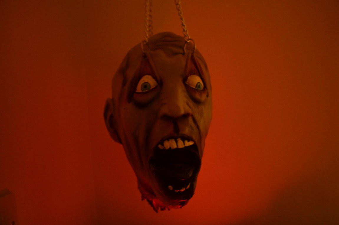 Smiffys Halloween Dismembered Latex Head