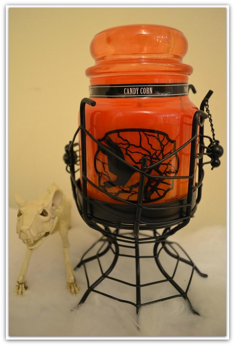 Yankee Candle Halloween Candy Corn Jar