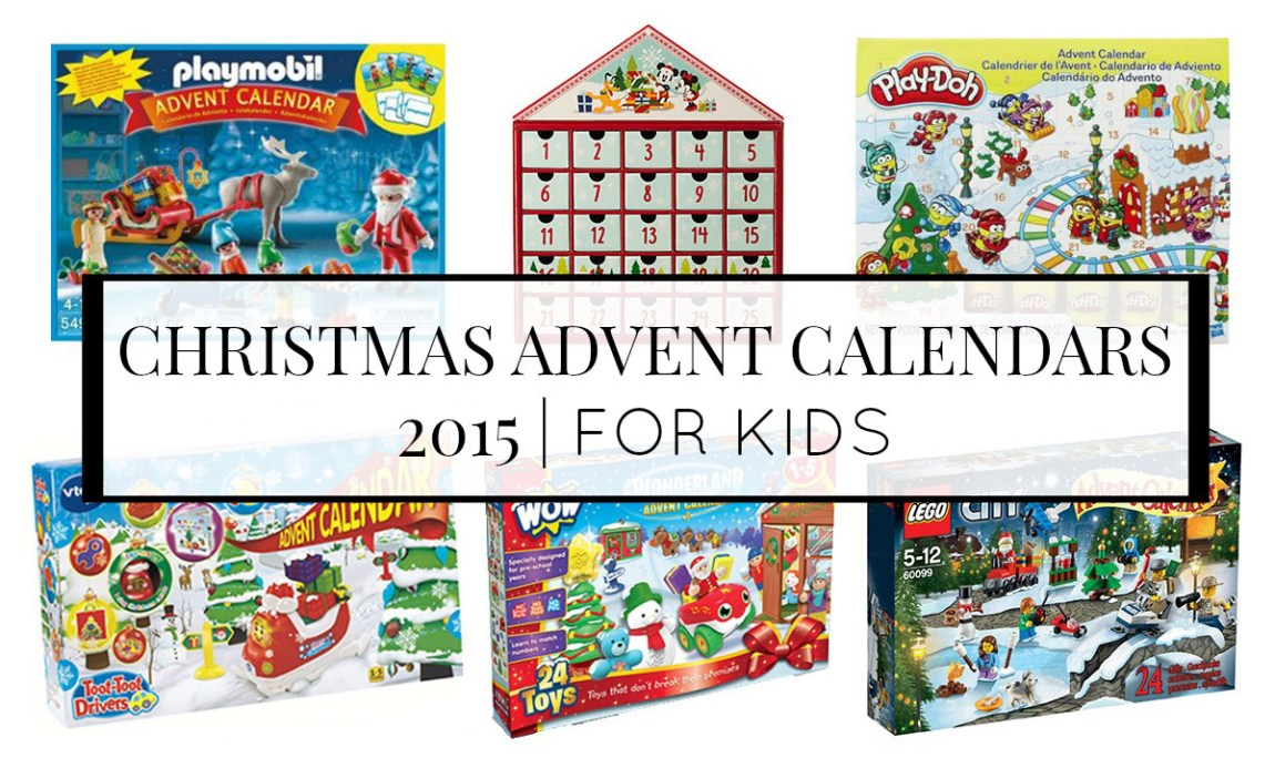TOP KIDS ADVENT CALENDARS 2015 LINDY LOVES