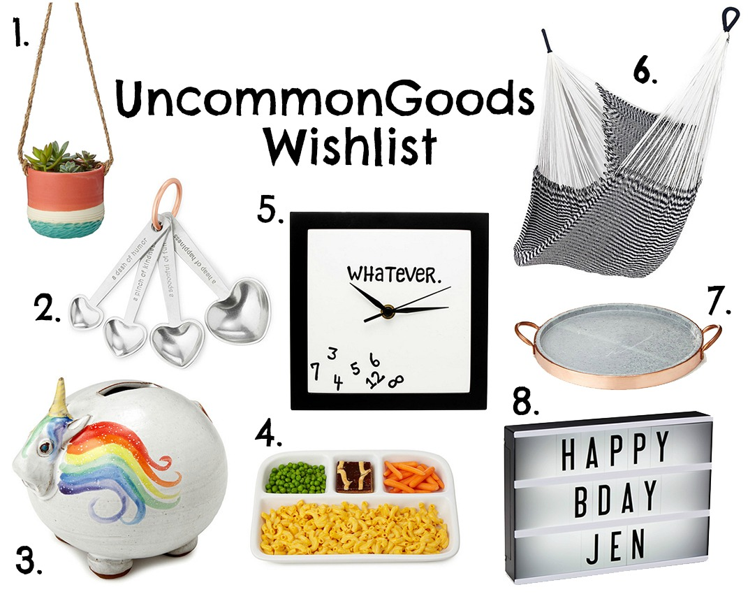 Uncommongoods Wishlist - Lindy Loves