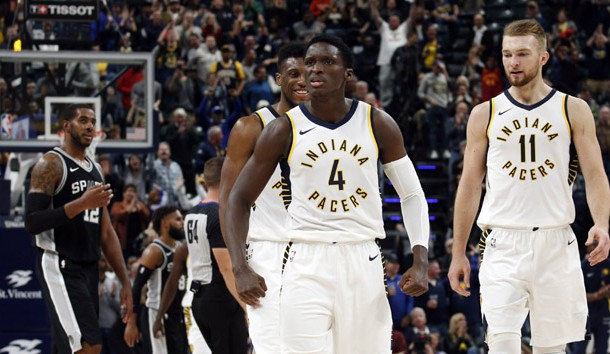 NBA Recaps Oladipo Lifts Pacers Over Spurs Lindy's Sports