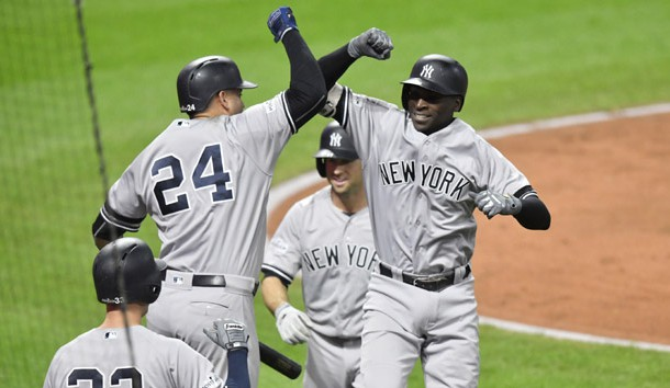 Gregorius Homers Twice As Yanks KO Indians Lindy's Sports