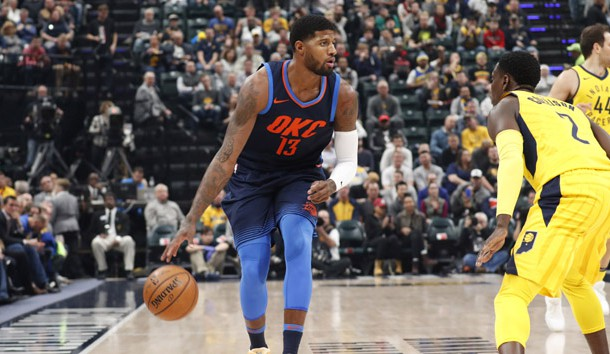 NBA Recaps George Gets Win In Return To Indiana Lindy's Sports