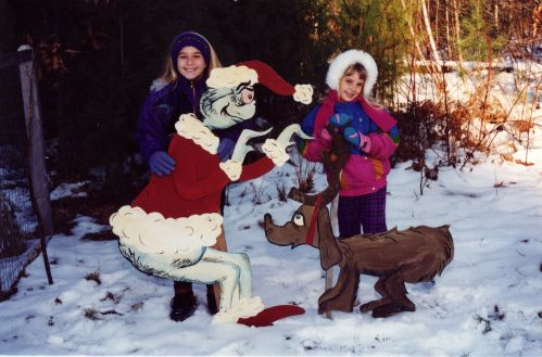Lindsay's Look - Christmas card 1995