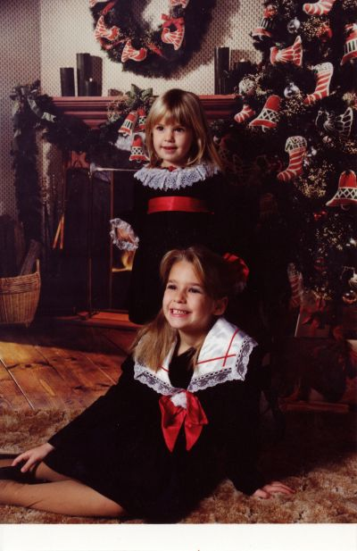 Lindsay's Look - Christmas card 1992