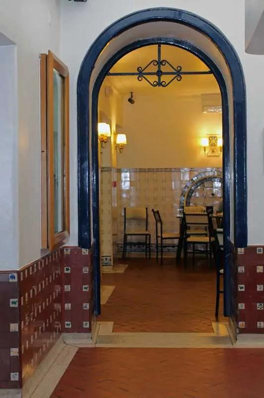Passage entre deux salles