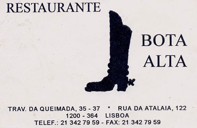 Restaurante Bota Alta