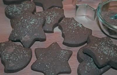 Petits sablés au chocolat