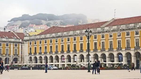 Praça do Comercio, Lisbonne