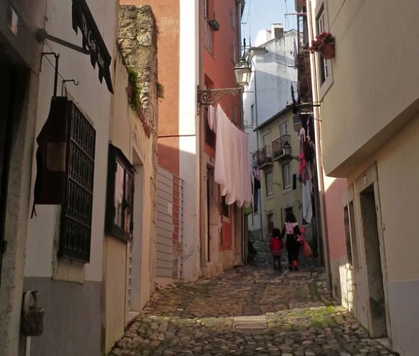 Ruelle du château S.Jorge