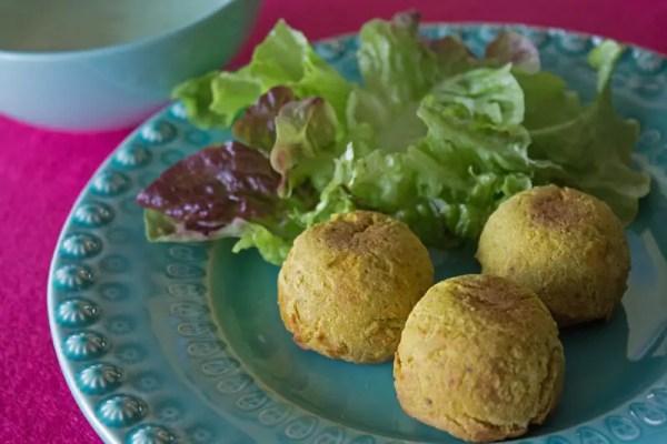 Boulettes végétariennes aux pois-chiches