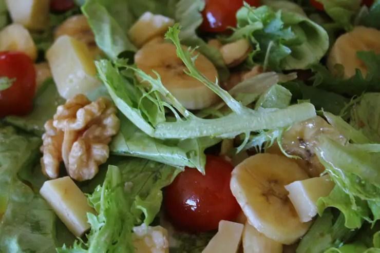 Salade composée express aux fruits
