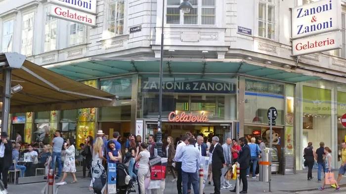 Gelateria Zanoni, Wien
