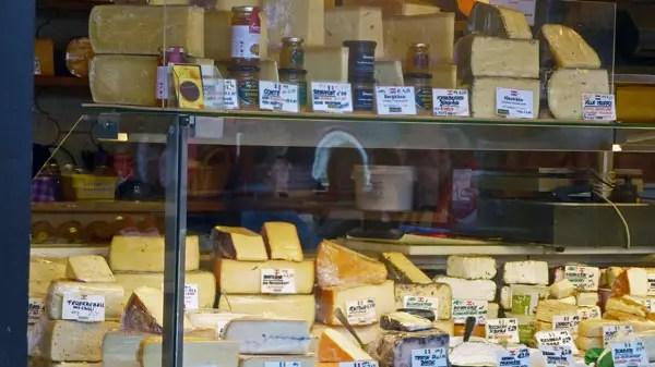 Marché Naschmarkt, Wien - fromages