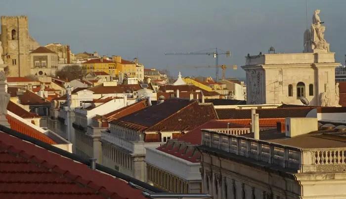 Vue depuis Largo das belles Artes