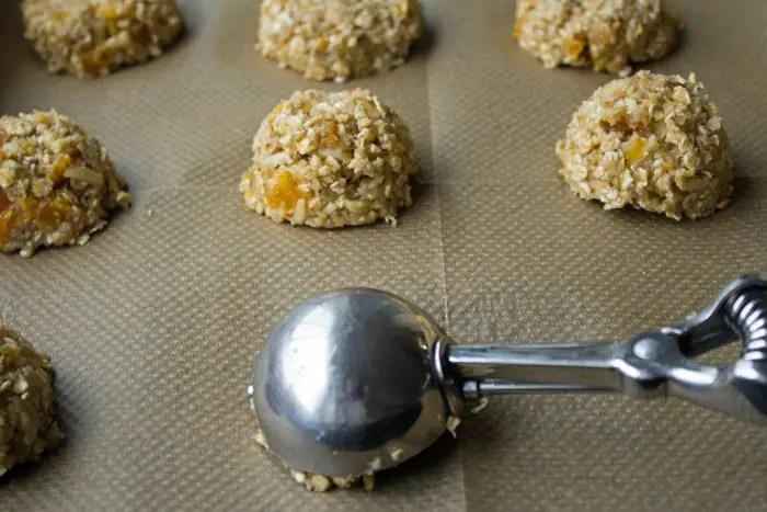 """""""Boules"""" de biscuits moelleux"""
