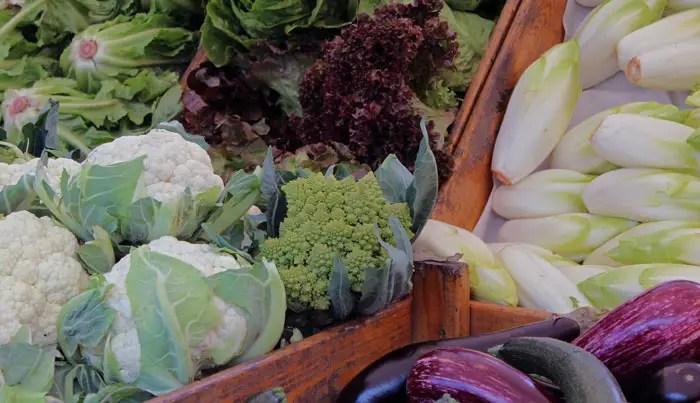 Légumes du marché un 1er octobre 2016