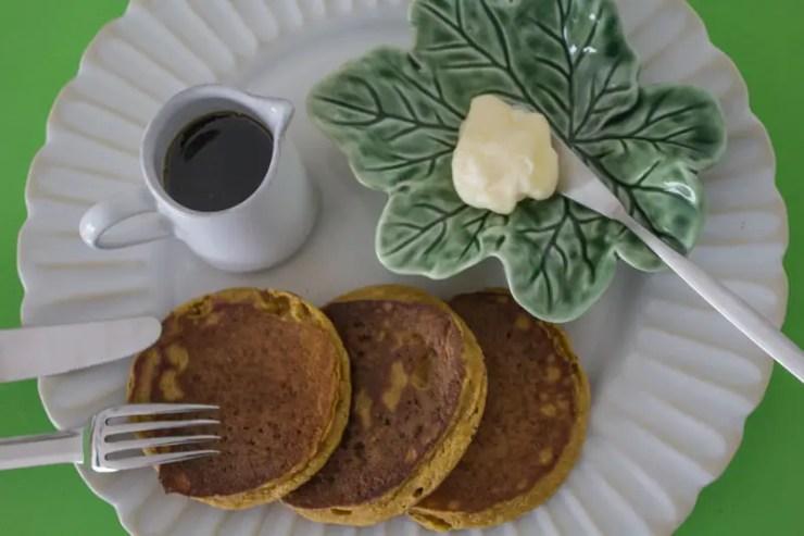 Hokkaido umpkin pancakess