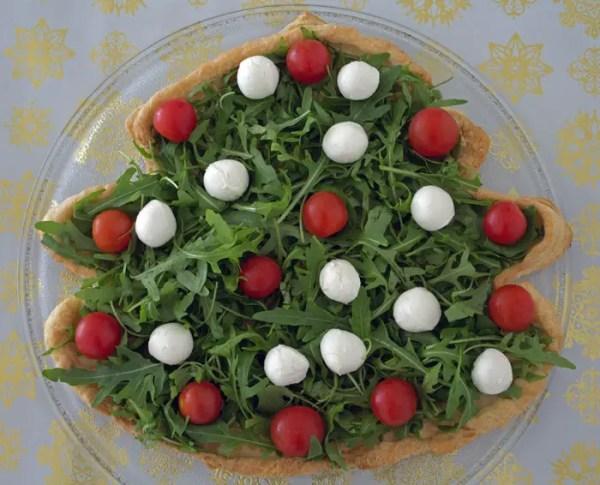 Salade sapin pour le mois de décembre
