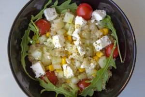 Salade au quinoa rapide et facile