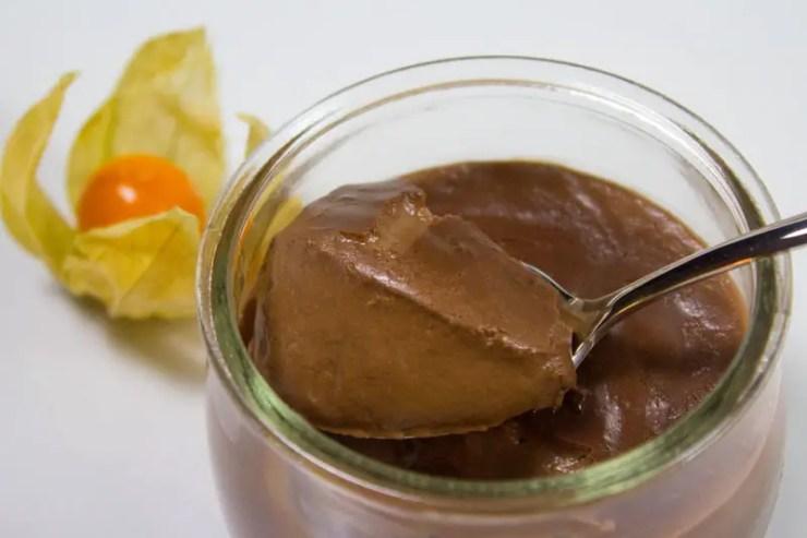 Crème au chocolat intense sans oeuf