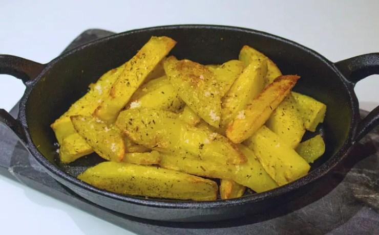 Pommes de terre frites au four