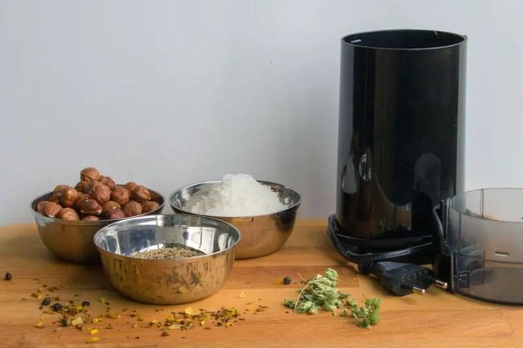 Moulin à café pour broyer grains et graines
