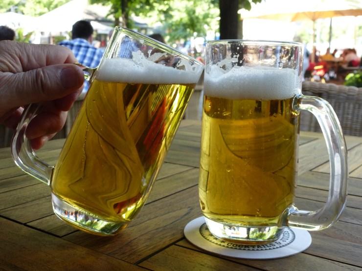 Bière en terrasse à Berlin