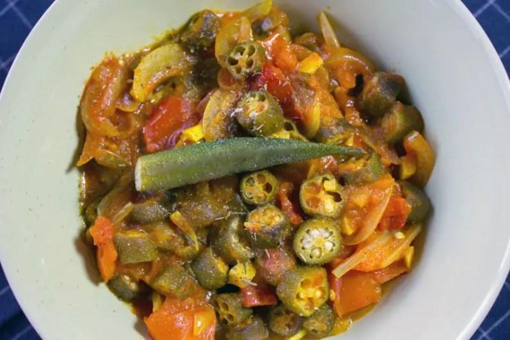 Gombos aux légumes