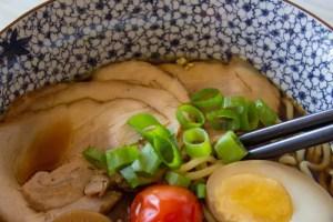 soupe ramen au porc châshû